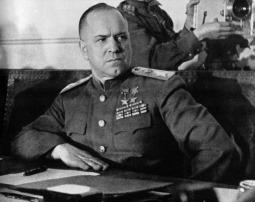 Sowjetischer Marschall Georgi Konstantinowitsch Schukow