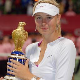 Tennisstar Maria Sharapova