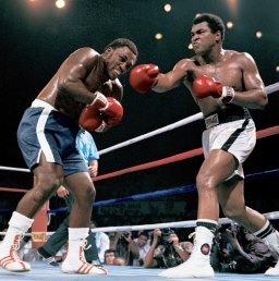 Schwergewichts-Box-Champion Muhammad Ali
