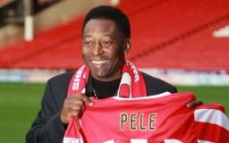 Berühmter Fußballspieler Pelé