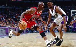 Basketballstar Michael Jordan