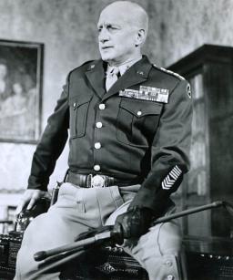 US-Militär-Kommandant George Smith Patton