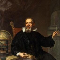Italienische Physiker Galileo Bild